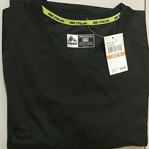 RBX Men's Performance Wear Shirt NWT